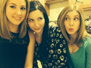 me, laur, candace silly