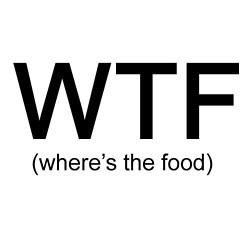 where da food