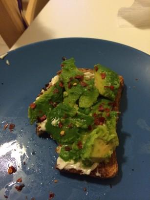 avocado toast Gweneth Style