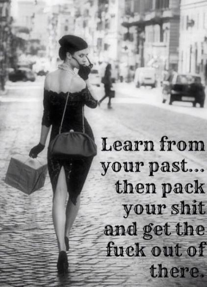 learn from your past...