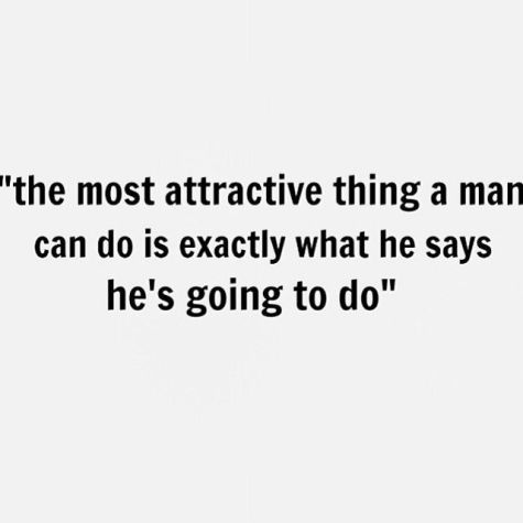 the most attractive thing a man can do