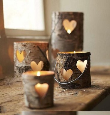 heart votives