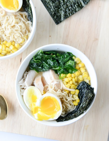 roasted chicken ramen howsweeteats